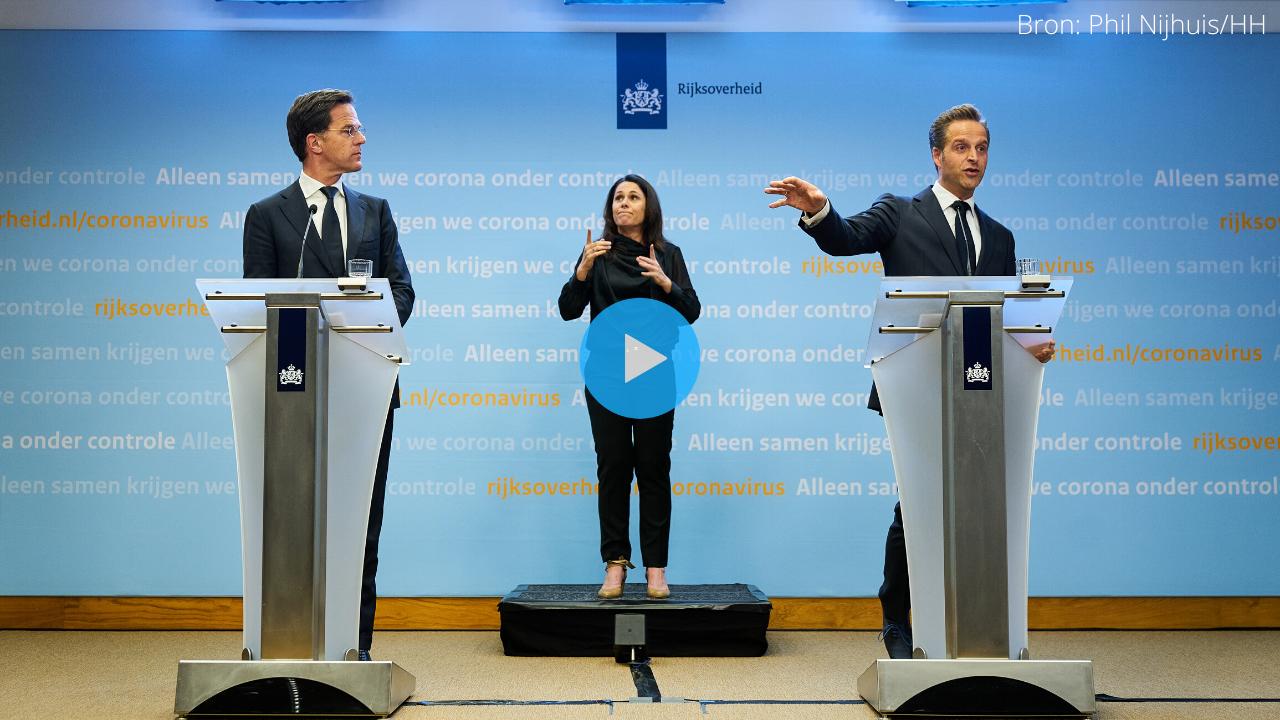 Kijk LIVE Naar Persconferentie Mark Rutte Over